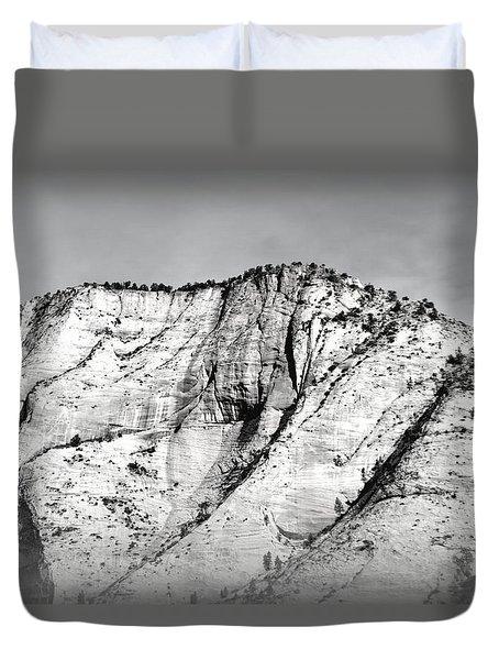 Sacred Mountain Duvet Cover