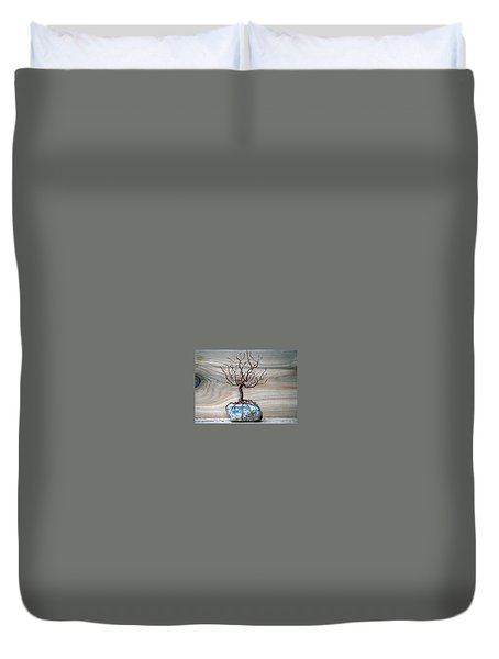 Sacred Oak Duvet Cover