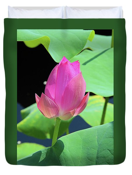 Sacred Pink Duvet Cover