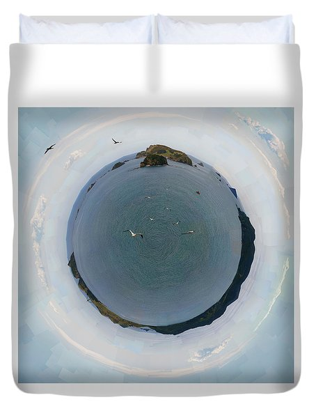 Sacred Planet - Rainbow Warrior _nz Duvet Cover