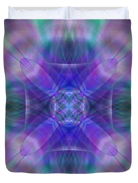 Sacred Space Duvet Cover