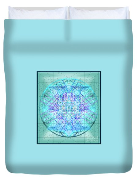 Sacred Symbols Out Of The Void 3b1 Duvet Cover