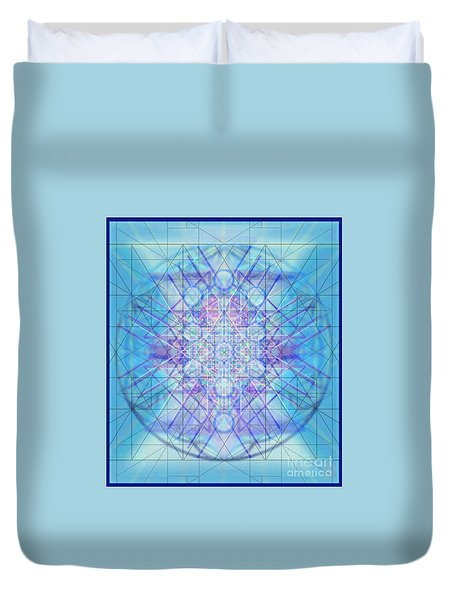 Sacred Symbols Out Of The Void A3c Duvet Cover