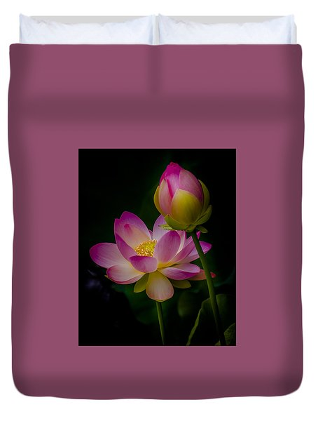 Sacred Water Lily 4 Duvet Cover