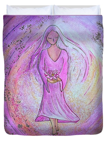 Sacred Woman Duvet Cover