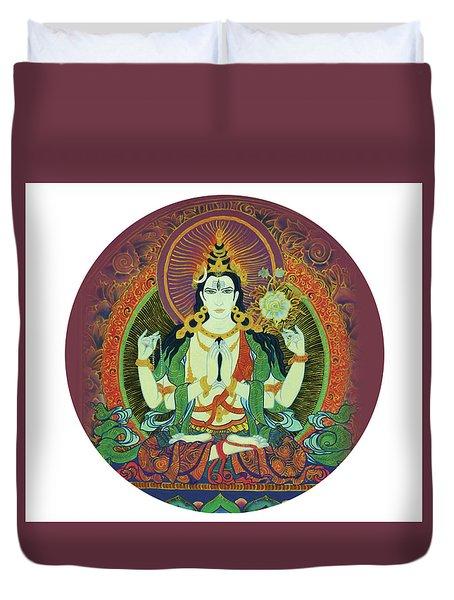 Sada Shiva  Duvet Cover