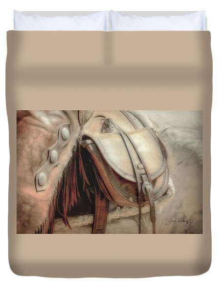 Saddle Bag Duvet Cover