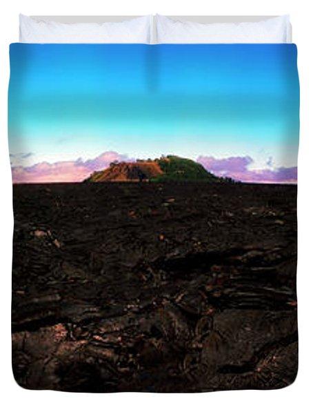 Saddle Road Humuula Lava Field Big Island Hawaii  Duvet Cover