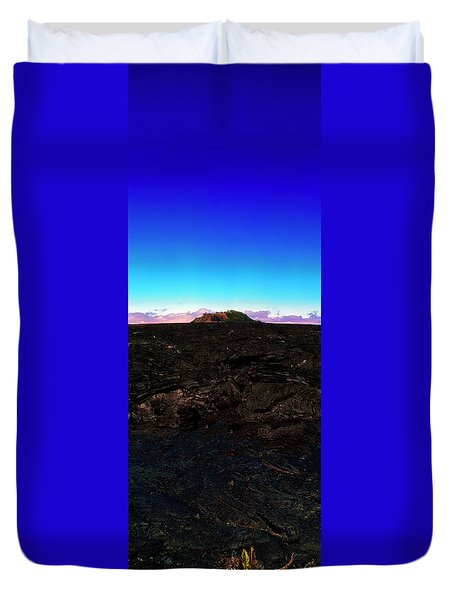 Saddle Road Humuula Lava Field Big Island Hawaii  Duvet Cover