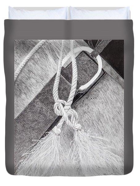 Saddle Strap Duvet Cover