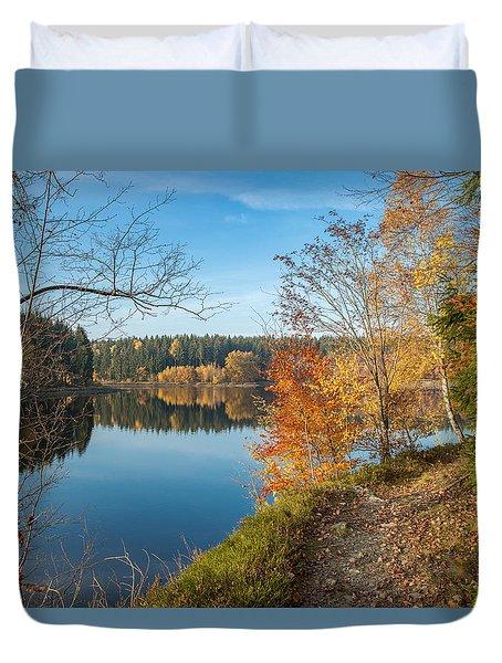 Saegemuellerteich, Harz Duvet Cover