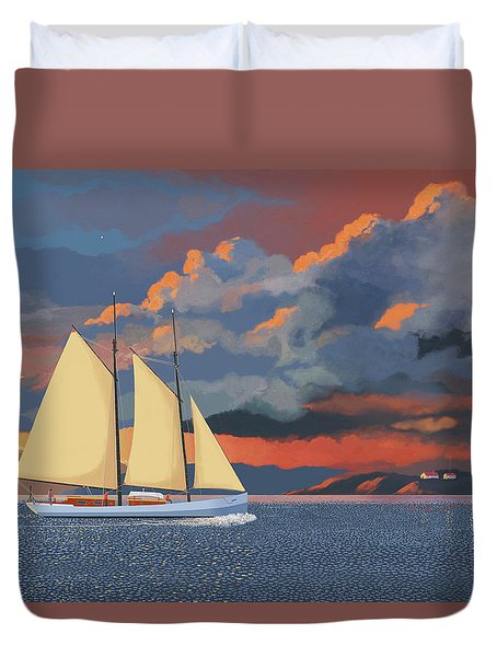 Safe Haven Duvet Cover