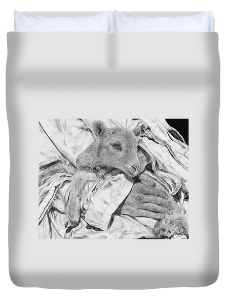 Safe Duvet Cover by Jyvonne Inman