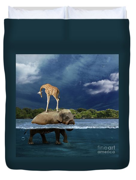 Safe Duvet Cover by Martine Roch
