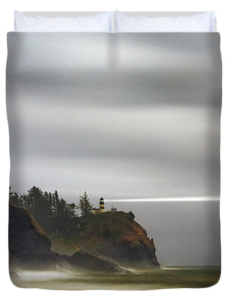 Safe  Passage Duvet Cover by James Heckt
