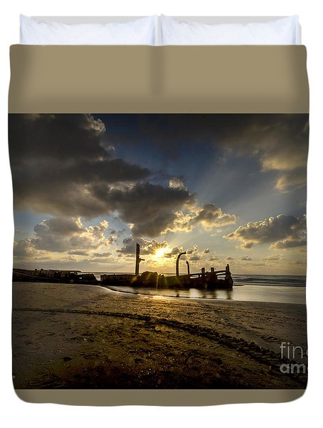 Safe Shore 04 Duvet Cover
