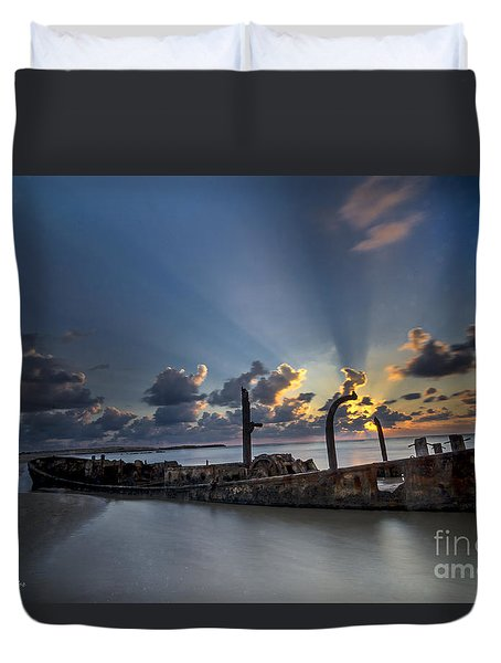 Safe Shore Duvet Cover