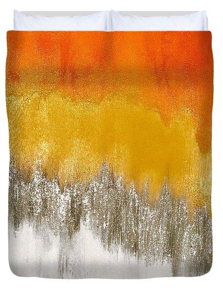 Saffron Sunrise Duvet Cover