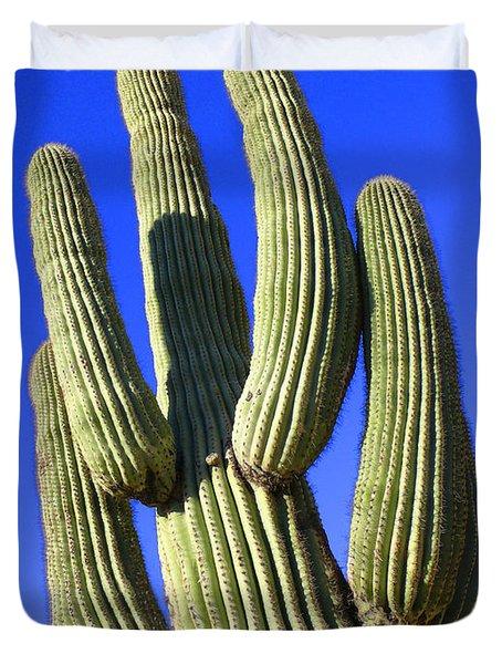Saguaro Cactus - Arizona Duvet Cover