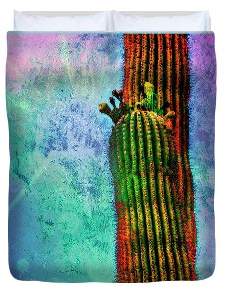 Saguaros Duvet Cover