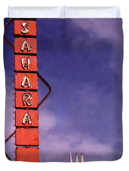 Sahara Motor Inn Duvet Cover
