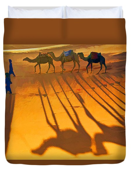 Sahara Shadows Duvet Cover