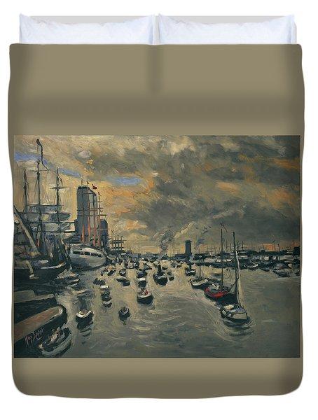 Sail Amsterdam 2015 Duvet Cover