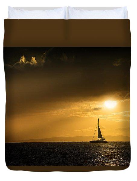 Sail Away Maui Duvet Cover