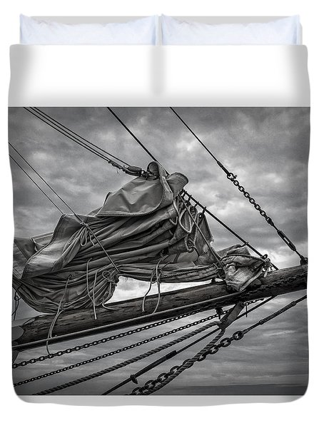 Sail Furled Duvet Cover