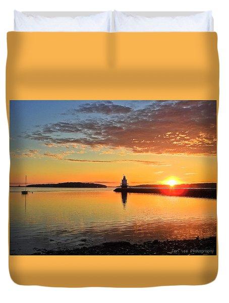 Sail Into The Sunrise Duvet Cover