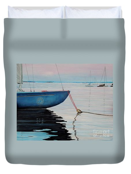 Sailboat Tied Duvet Cover