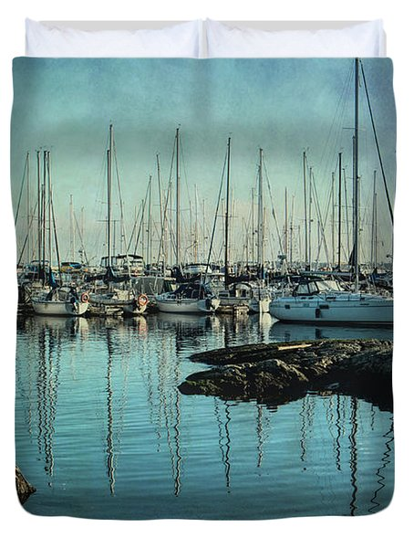 Marina - Digitally Textured Duvet Cover