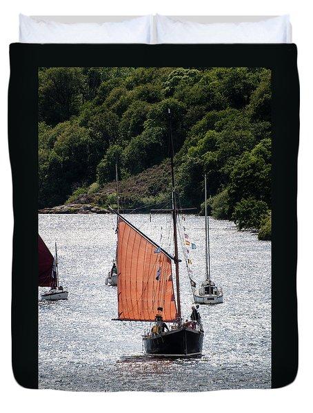 Sailing 46 Duvet Cover