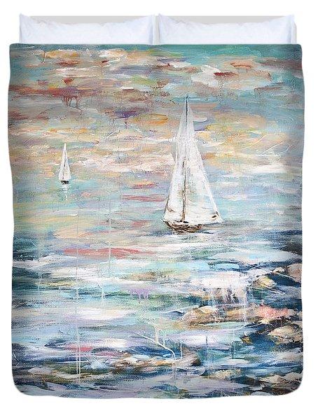 Sailing Away 2 Duvet Cover