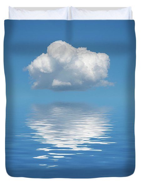 Sailing Away Duvet Cover by Jerry McElroy