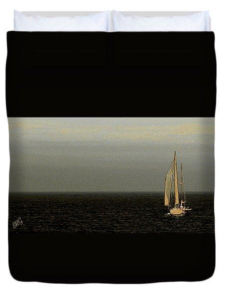 Sailing Duvet Cover by Ben and Raisa Gertsberg