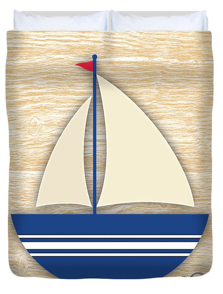 Sailing Collection Duvet Cover