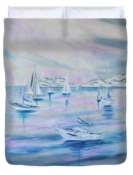 Sailing Duvet Cover