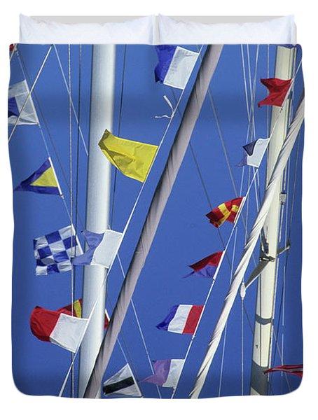Sailing, General Duvet Cover