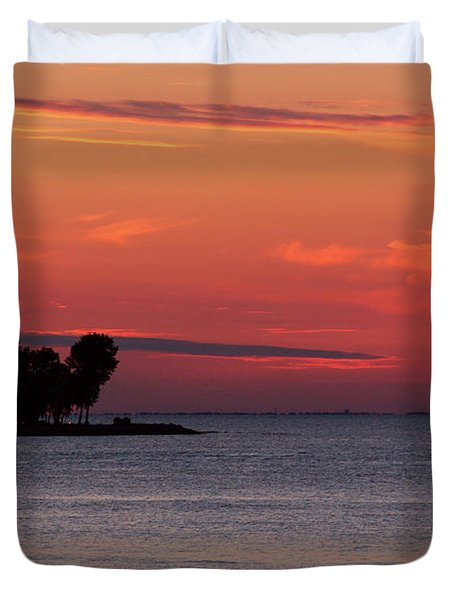 Sailing Home Duvet Cover by Joel Witmeyer
