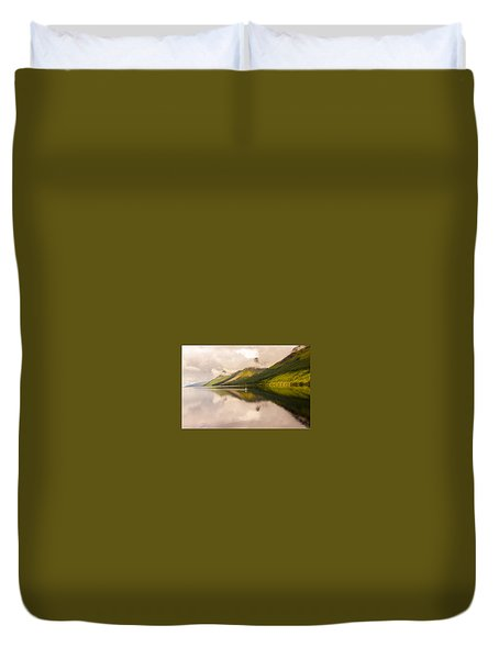 Sailing In Scotland Duvet Cover