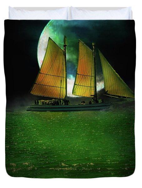 Sailing Safari  Duvet Cover