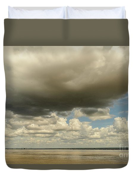 Sailing The Irrawaddy Duvet Cover