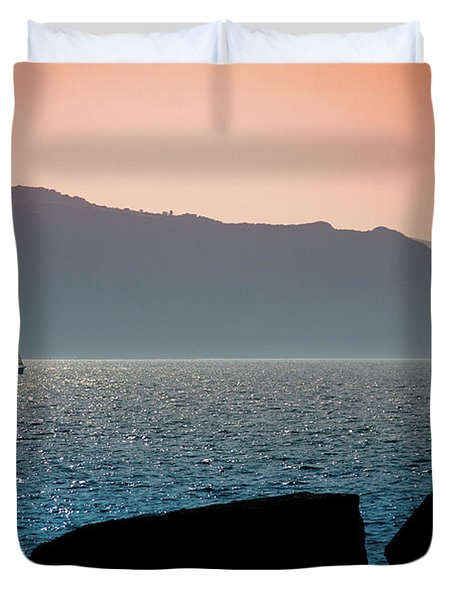 Sailng Duvet Cover
