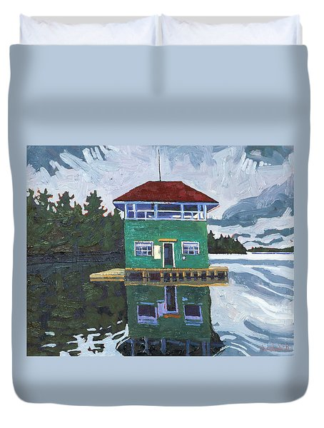 Sailors Club House Duvet Cover