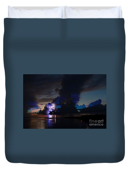 Sailors Delight Duvet Cover by Quinn Sedam