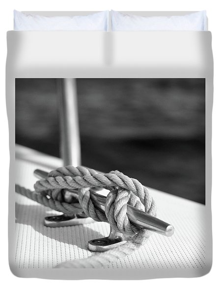 Sailor's Knot Square Duvet Cover