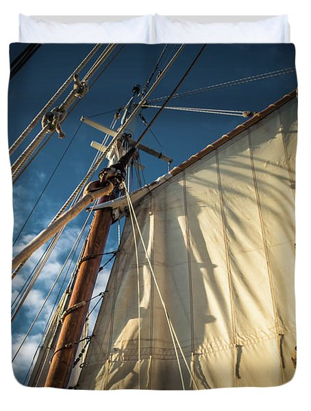 Sails In The Breeze Duvet Cover