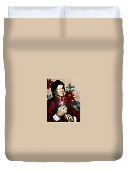 Saint Bernard Vo Van Due Of Vietnam Duvet Cover by Suzanne Silvir