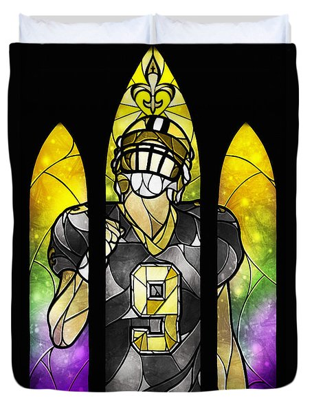 Saint Brees Duvet Cover